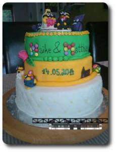 Minion Geburtstags Kuchen