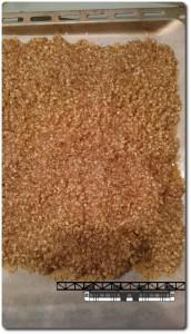 gebackene Nussecken Masse